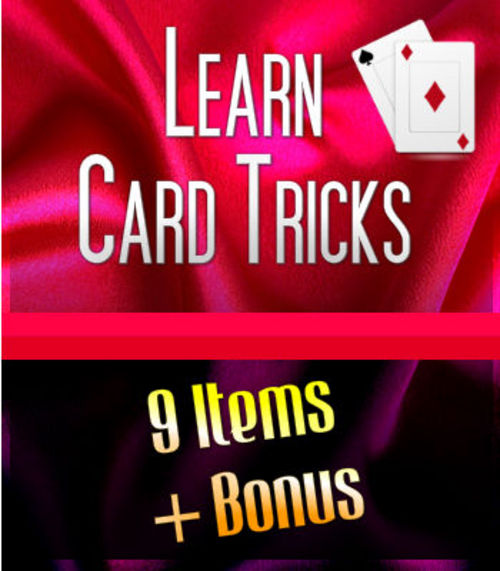 Product picture Card Tricks Ebook - Resell Rights Granted