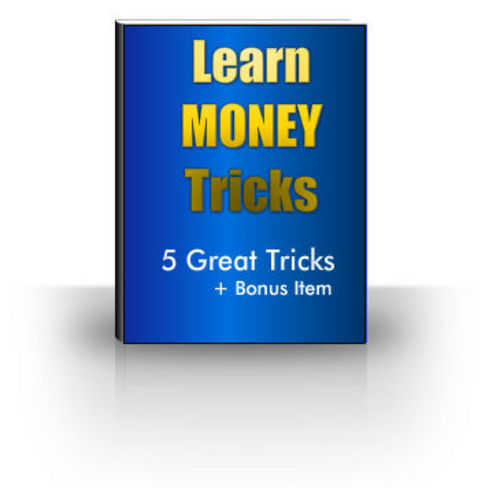 Product picture Magic Tricks with Money - Resell Rights Granted