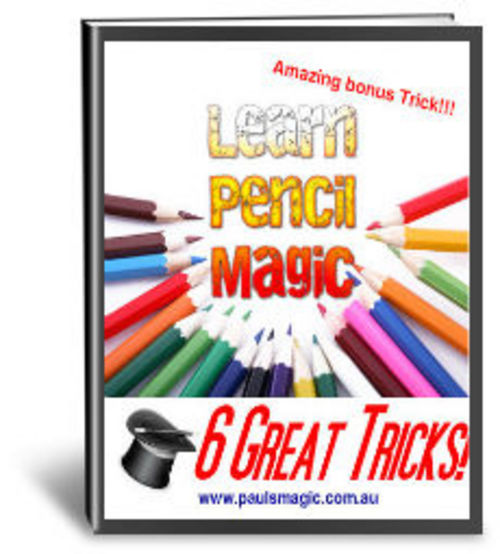 Product picture Magic Tricks With Pencils - Resell Rights Granted