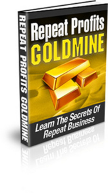 Product picture Repeat Profits Goldmine
