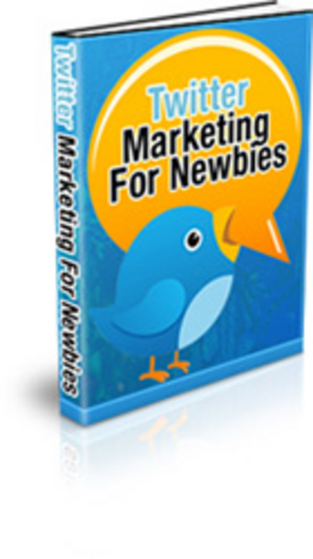 Product picture Twitter Marketing For Newbies
