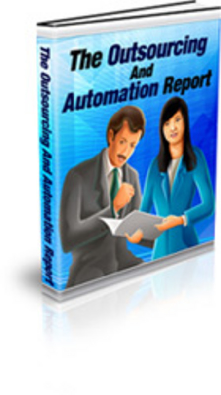 Product picture The Outsourcing and Automation Report