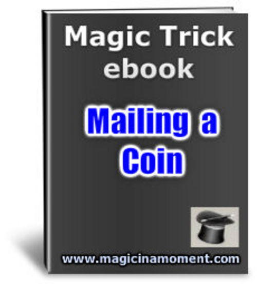 Product picture Magic Trick - Mailing a Coin - Resell Rights